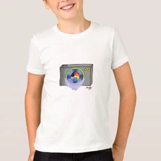 Retro Rainbow Camera T-Shirt