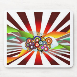 Retro Rainbow Mousepads