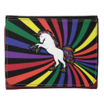 Retro Rainbow Unicorn Wallet