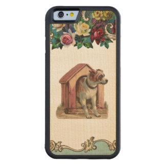 RETRO REBEL Dog House iPhone 6 Bumper Wood Case