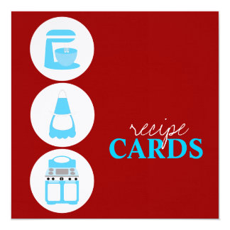 Retro Recipe Cards