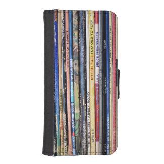 Retro Record Album iPhone 5/5s wallet case