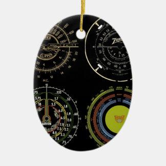Retro Records Ornament