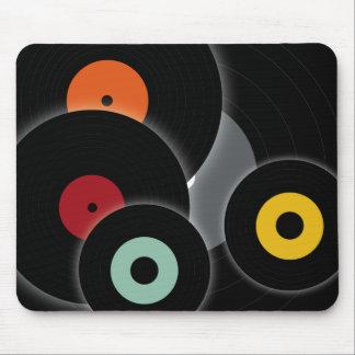 Retro Records mousepad