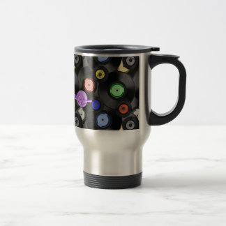 Retro Records Travel/Commuter Mug