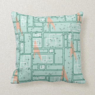 Retro Rectangles Cushion