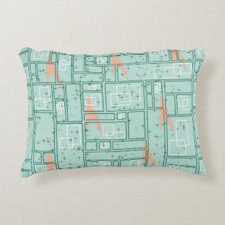 Retro Rectangles Decorative Cushion