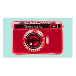 Retro Red Camera Photography Business Cards Business Card Templates
