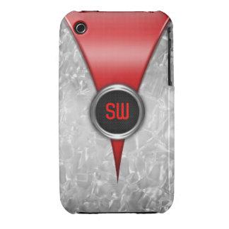 Retro Red iPhone 3G/3GS Case iPhone 3 Case-Mate Cases