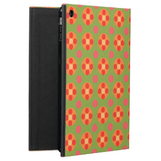 Retro Red Poppies and Polka Dots Powis iPad Case