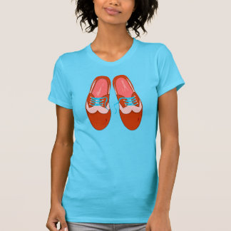 Retro Red Shoes T-Shirt