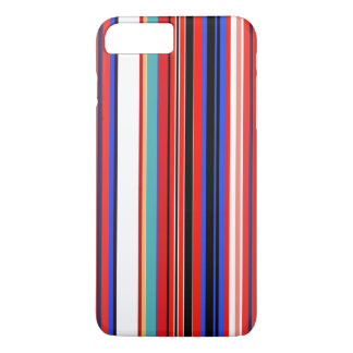 Retro Red Stripes iPhone 8 Plus/7 Plus Case