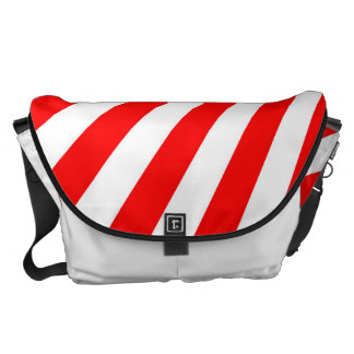 Retro Red Sun Rays Background Commuter Bag