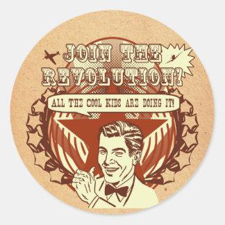 Retro Revolution Stickers