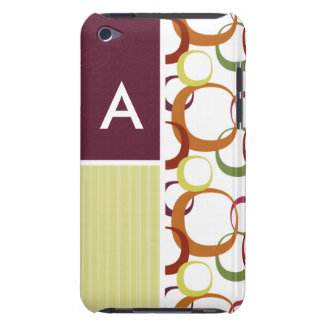 Retro Rings Pattern Barely There iPod Covers