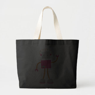 Retro Robot in Pink Bags
