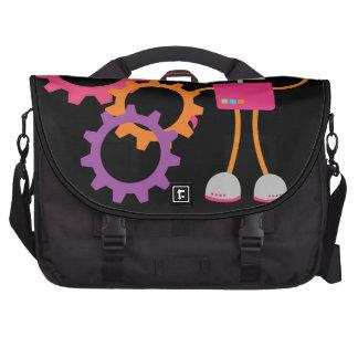 Retro Robot Laptop Bags