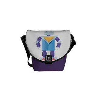 Retro Robot Courier Bag