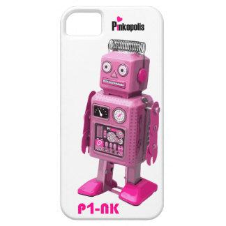 Retro Robot P-NK iphone 5 is alive! iPhone 5 Case