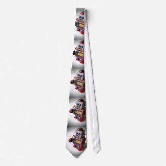 Retro Robot Tie