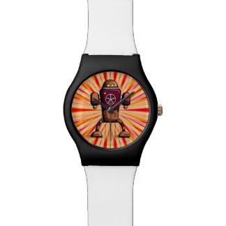 Retro robot watch