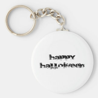 Retro Rock Happy Halloween Key Chain