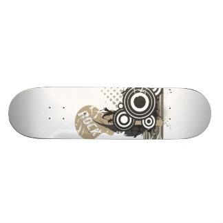 Retro Rock Skate Board
