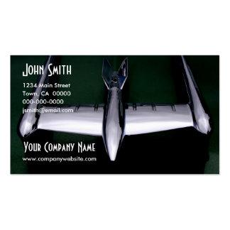 Retro Rocket Pack Of Standard Business Cards