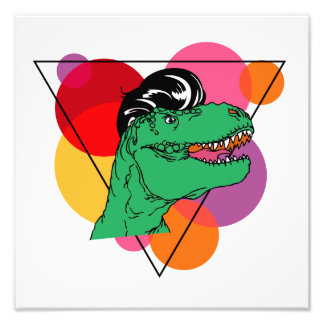 Retro Rockin' T-Rex (guy) Photo