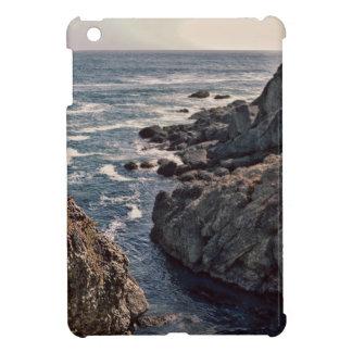 Retro Rocky California Coast Image Cover For The iPad Mini