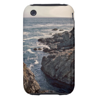 Retro Rocky California Coast Image iPhone 3 Tough Cover