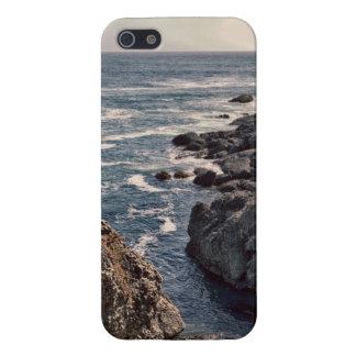 Retro Rocky California Coast Image iPhone 5 Case
