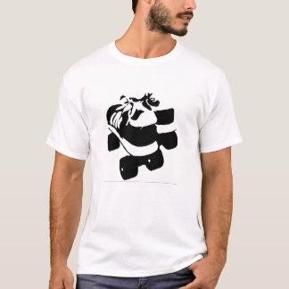 Retro RollerBoot Design T-Shirt