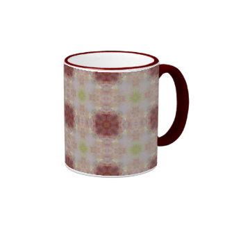 Retro Rose Ringer Mug