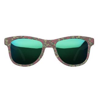 Retro rose rockabilly sunglasses