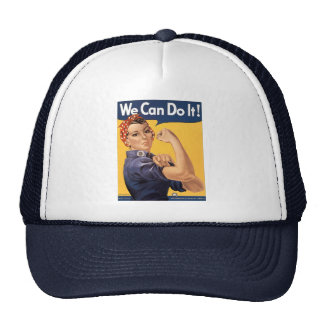 Retro Rosie We Can Do It Cap