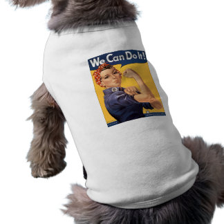 Retro Rosie We Can Do It Shirt