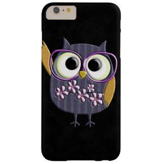 Retro Rustic Custom Owl Barely There iPhone 6 Plus Case