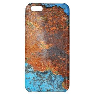 Retro Rusty Street Grunge Texture Pattern iPhone 5C Cases