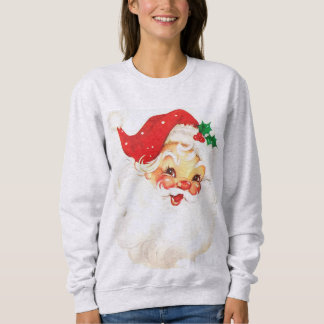 Retro Santa Christmas Sweater Jumper