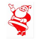 Retro Santa Post Cards