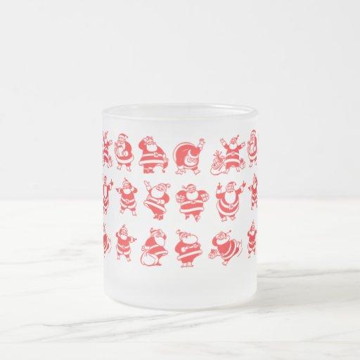 Retro Santas Mugs