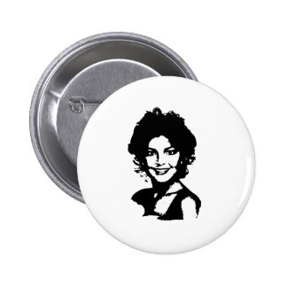 Retro Sarah Palin 6 Cm Round Badge