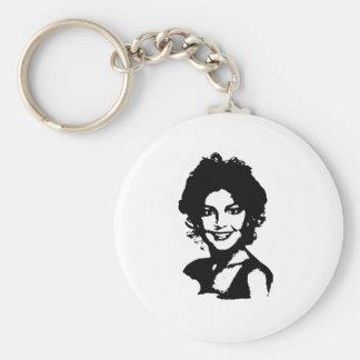 Retro Sarah Palin Key Chain