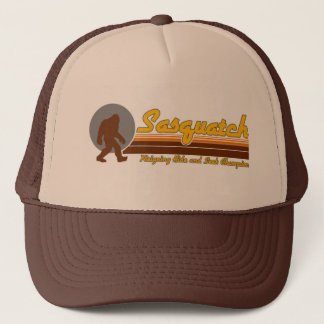 Retro Sasquatch Hide and Seek Champion Trucker Hat