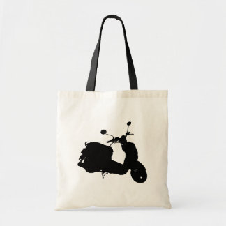 Retro Scooter Silhouette Bag