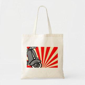 Retro Scooter Tote Bag