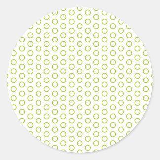 retro scores pünktchen polka dots dab dabbed sticker