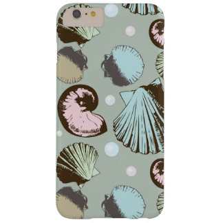 Retro Seashell Pattern Barely There iPhone 6 Plus Case