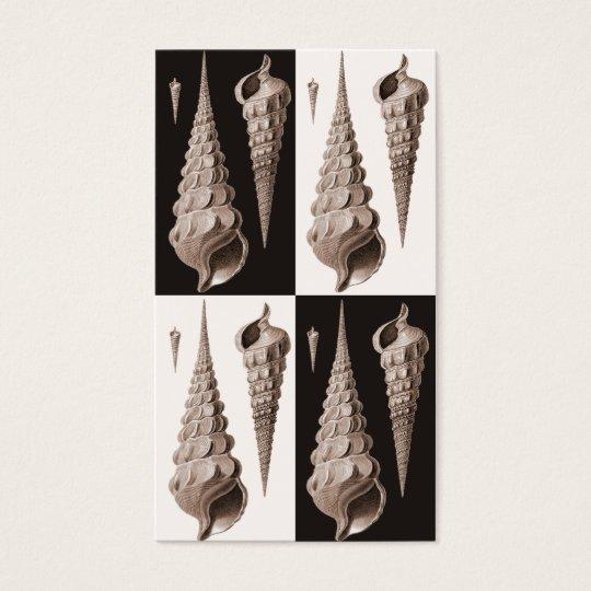 Retro Seashells Profile Card